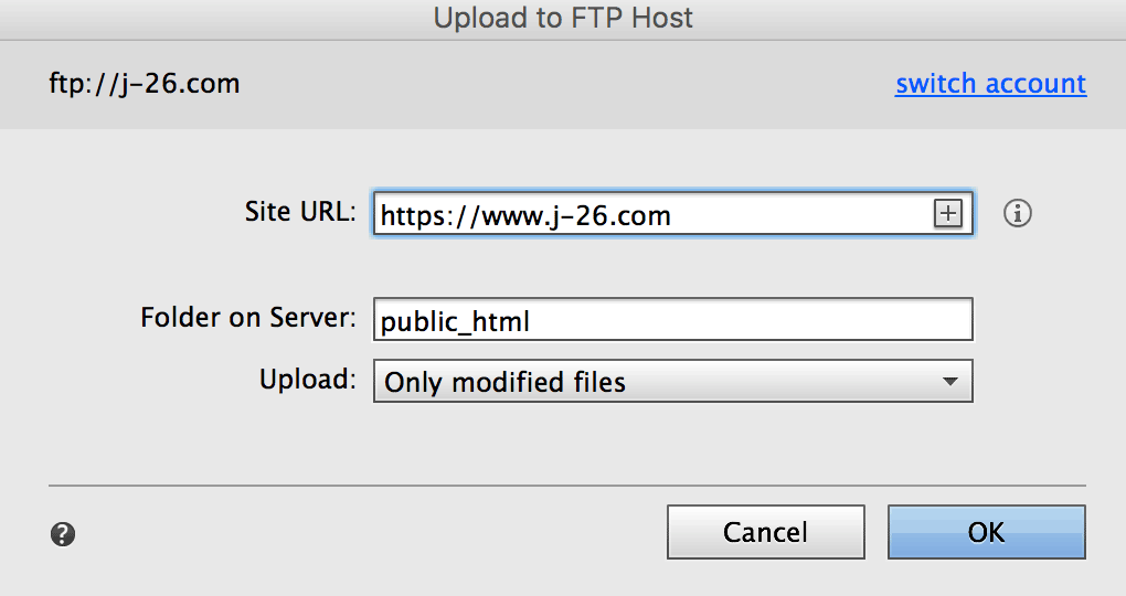Specify whether your site uses http(s) and www (or non-www)